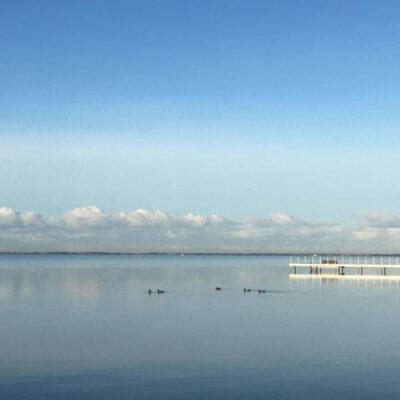 Blikstille fjord